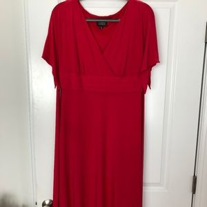 Beautiful Red Dress - Adrianna Papell